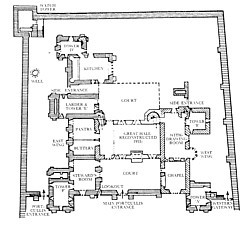 Rosalie 39 s medieval woman about me for 11th century castles floor plan