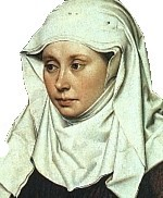 Medieval Cotton Veil and Wimple Set by ClothofKings on Etsy