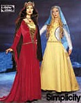 Rosalie's Medieval Woman - Bought Patterns