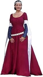 Rosalie's Medieval Woman - Kirtle Tutorial